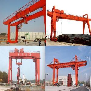 30 tons of double beam gantry crane, double girder gantry crane parameters