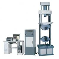 Buy cheap Computer Control Electro-Hydraulic Servo Universal Testing Machine Capacity  50KN  for tension, compression, bending and from wholesalers