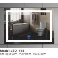 Buy cheap Big / Small Square LED Bathroom Mirror With Lights And Demister Motion Sensor from wholesalers