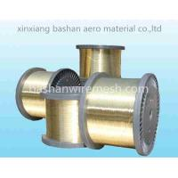 Buy cheap High Level bashan Wire Spool Brass Hard EDM Brass Wire for Machinery from wholesalers