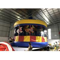 Buy cheap Commercial Inflatable Carousel Bounce House For Backyard 6 * 6m from wholesalers