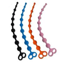 Buy cheap 100% Medical Grade Silicone Anal Sex Toys Beads With Finger Loop from wholesalers