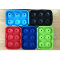 Buy cheap Large Silicone Ball Shaped Ice Tray, Whiskey Cocktails Beverages Silicone Round Ice Ball Tray from wholesalers