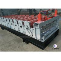 Buy cheap Color Metal Profile Roofing Sheet Metal Roofing Machine With 3 Groups Rollers from wholesalers