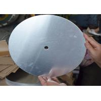 Buy cheap Industrial Round Aluminum Plate 8011 6082 6083 5052 5754 6061 Grade from wholesalers