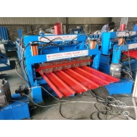 Buy cheap IBR Double Layer 5.5kw Glazed Tile Roll Forming Machine from wholesalers