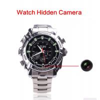 Buy cheap Wholesales High Quality Smart Wrist IR Night Vision HD 1080P Audio Video Recorder Spy Hidden Camera Watch Made In China from wholesalers