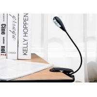 Buy cheap Multi - Purpose Dimmable Led Clip On Book Lights For Reading Cordless Design from wholesalers