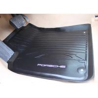 Buy cheap PVC Black Floor Mats for Porsche Macan 2014 2016 , Foot Mat with Original Style Logo from wholesalers