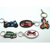 Buy cheap Car motorcycle exhibition promotional gifts promotional key chains soft pvc key rings custom car series keychain supply from wholesalers