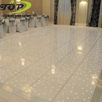 Buy cheap white or black acrylic RGB /RGBW led starlit dance floor for sale from wholesalers