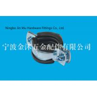 Buy cheap 38 mm - 43 mm EPDM Rubber Coated Pipe Support Clamps for Water Pipe Fixing from wholesalers