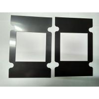 Buy cheap Fashion Black Die Cut  Products Protective Film 0.15MM / 0. 5MM Thickness For Metal Protect from wholesalers