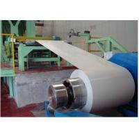 Buy cheap 40 - 275 g/m2 Zinc Coating 700 -1250mm Width EN 10169 DX51D+Z Color Coated Steel Coil from wholesalers