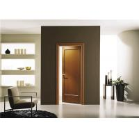 Buy cheap House Model Open Inside Swing Solid Wood Doors Customized Color With Knobs / Locks from wholesalers