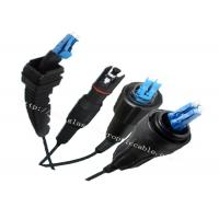 Buy cheap Outdoor Communication Protected Fiber Optic Patch Cables With Waterproof Connectors from wholesalers