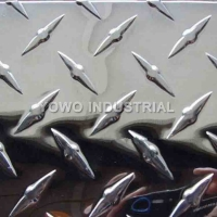 Buy cheap 2000mm Width  1.2mm 5052 Aluminum Diamond Plate Sheets from wholesalers