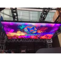 Buy cheap LED Video wall DJ Booth P3.9 LED Display Screen 500x500mm Indoor 3840Hz from wholesalers