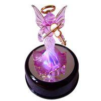 Buy cheap spun glass angel in display box from wholesalers