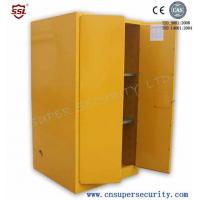 Buy cheap Zinc Lever Lock Pool Chemical Storage Cabinets With 2 Shelves Fully-welded  Durable and chemical Resistant from wholesalers