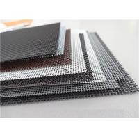 Buy cheap High Intensity Stainless Steel Insect Screen , Black King Kong Window Screen Mesh from wholesalers