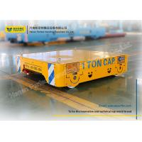Buy cheap Heavy Duty Material Handling Carts Electric Steel Product Plant Transfer Bogie from wholesalers