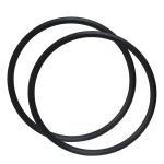 Buy cheap 350g Asymmetry 29er Carbon Fiber Bike Rims Hookless 28mm X 22mm Tubeless from wholesalers