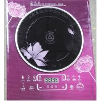 Buy cheap big power 2300W real power electirc induction cooker with black crystal panel from wholesalers