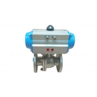Buy cheap 150LB Pneumatic Actuator Valve , CF8 Pneumatic Ball Valve from wholesalers