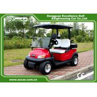 Buy cheap EXCAR Electric Golf Car 2 Person Golf Club Car 48V Trojan Battery Powered from wholesalers