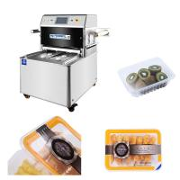 China Touch Screen Pneumatic MAP Packaging Machine , Vertical Vacuum Packaging Machine on sale