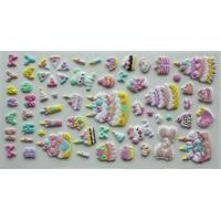 Buy cheap PVC 3D Fuzzy Foam Birthday Puffy Stickers With Felt finished from wholesalers
