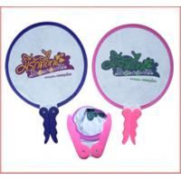 Buy cheap Colorful Pop up Foldable Pouch TYVEK Hand Fan from wholesalers