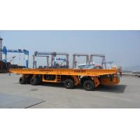 Buy cheap 100T Self-propelled Heavy-duty Hydraulic Flatbed Truck Trailer from wholesalers