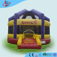 Buy cheap Durable Bounce House Obstacle Course Longevity Halloween Pumpkin from wholesalers