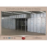 Buy cheap GOWE metal formwork system / retaining wall formwork 300 times recycle from wholesalers