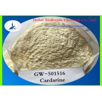 Buy cheap Sarms GW501516 Raw Hormone Powders Selective Androgen Receptor Modulator Cardarine from Wholesalers