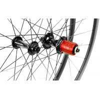 Buy cheap Colored Four Bearing 10 Speed Bicycle Wheel Hub NDS 37.4mm DS 56mm from wholesalers