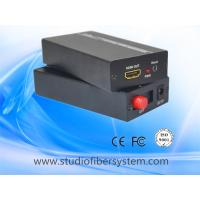 China 1 port compressed hdmi to fiber optic converter for 1080p hdmi signal over fiber to 0~60km on sale