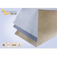 Buy cheap High Temperature Silica Fiberglass Cloth Fire Barrier Fire Blanket Material from wholesalers