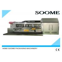 Buy cheap Vacuum Transfer Flexo Printer Slotter Die Cutter , High Defination Rotary Die Cutter from wholesalers