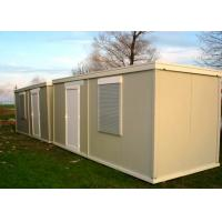 Buy cheap Leisure Vacation Living Container House With Full Set Of Living Facilities from wholesalers