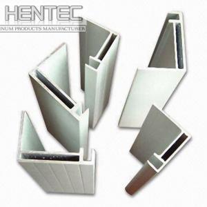 Buy cheap Standard aluminium extrusion profiles / shapes 6063 - T5 10 um product