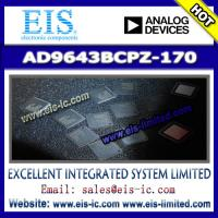 Buy cheap AD9643BCPZ-170 - AD (Analog Devices) - 14-Bit, 170 MSPS/210 MSPS/250 MSPS, 1.8 V Dual Anal from wholesalers