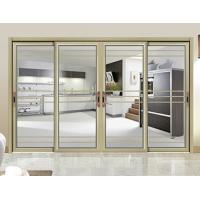 Buy cheap Internal Single Glass Sliding Patio Doors / Residential Sliding Glass Doors from wholesalers