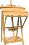 Buy cheap ECS16166, Wooden Studio Easel, Artist Easel, Heavy Duty Studio Easel from wholesalers
