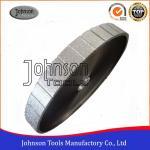 Buy cheap 350 mm Vacuum Brazed Profile Wheel Vacuum Brazed Diamond Tools For Granite Or Marble Profiling , Flat Z Shape from wholesalers