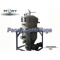 Buy cheap PNYB Series Hot Sell Vertical Type Pressure Leaf Filter for Different Purposes from wholesalers