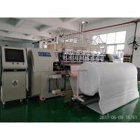Bedding Multi Needle Shuttle Quilting Machine Digital Control With 2 Needle Bars