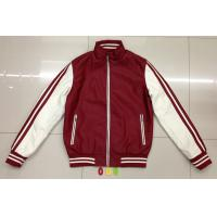 Buy cheap 006 Men's pu fashion baseball jacket coat stock from wholesalers